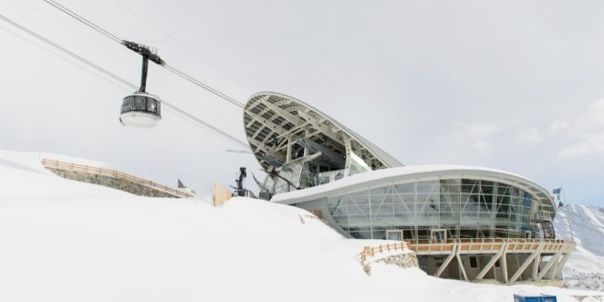 Monte Bianco Cableway Pavillon du Mont Fréty realized by Porotherm BIO PLAN 30