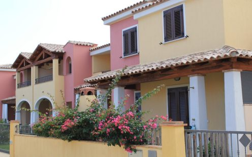 Overview of apartaments of residence Agora Sardegna
